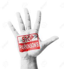 Open Hand Raised, Stop Parkinson's Disease (PD) Sign Painted,.. Stock Photo, Picture And Royalty Free Image. Image 26035812.